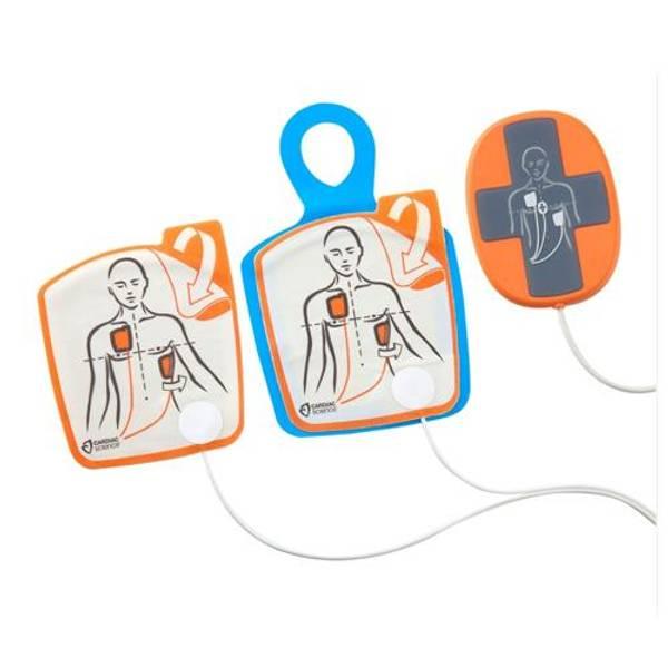 Bilde av Cardiac Science Powerheart AED G5 elektroder med