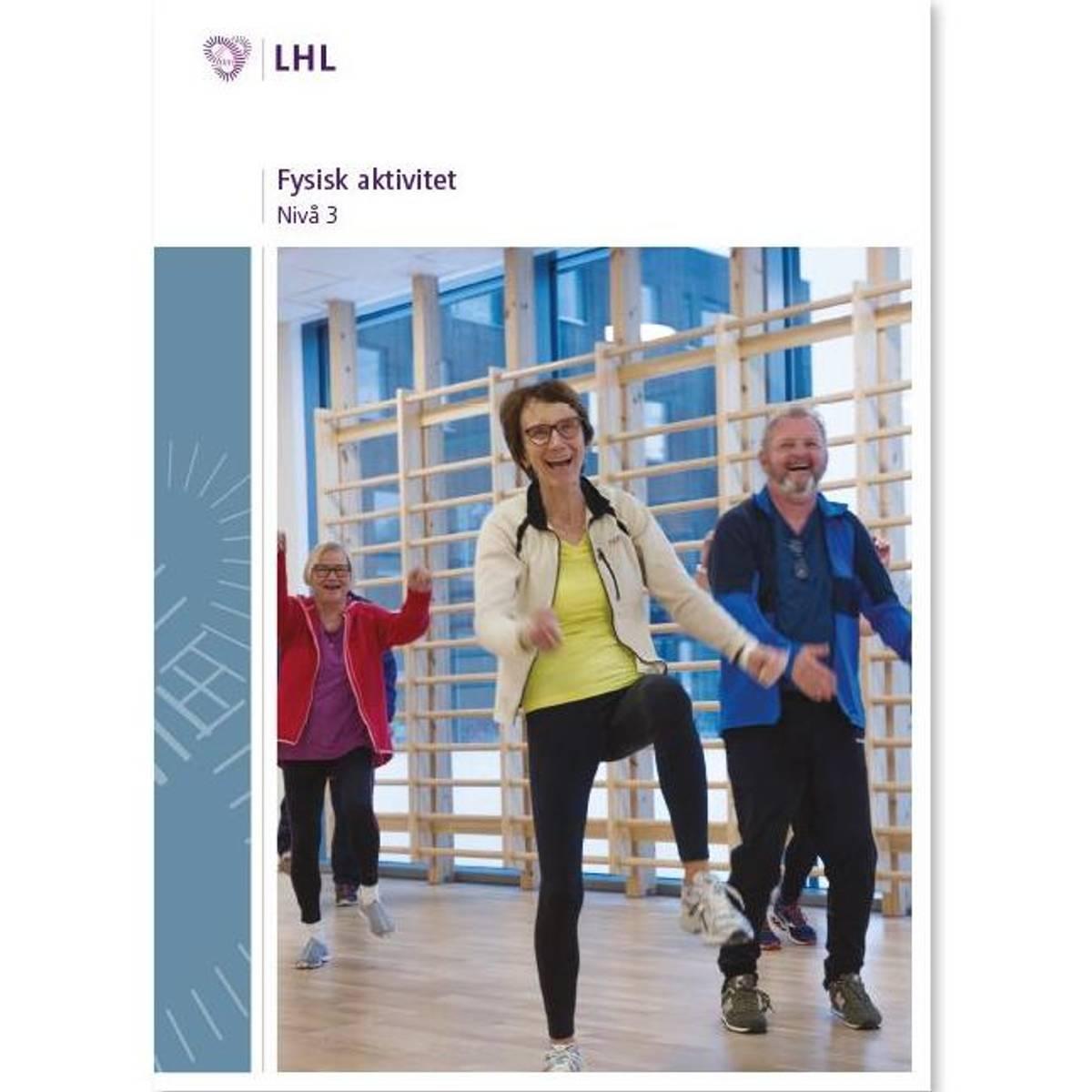 Fysisk aktivitet nivå 3 NY VERSJON 2019 m/2 stk cd