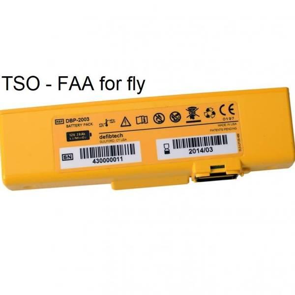Bilde av Lifeline VIEW/PRO Batteri TSO godkjent - 4 år