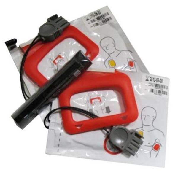 Bilde av Lifepak CR Plus - Charge-Pak batteri og 2 par
